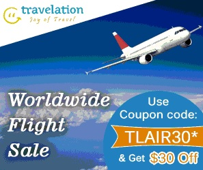From USA to Worldwide Flight Sale