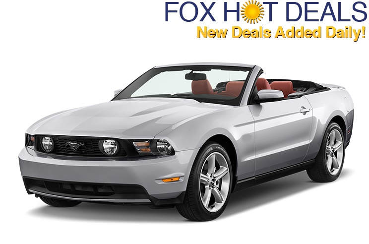 Hot Car Rental Deals Starting at $5 a Day!