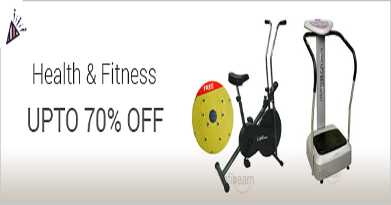 Upto 70% off on Health & Fitness Accessories