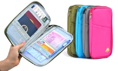 75% off on Passport and Document Holder from £4.99