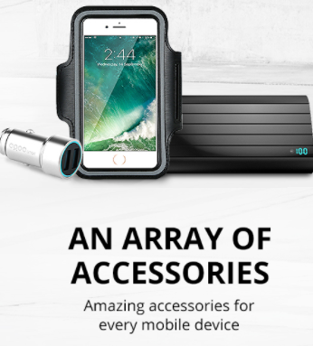 Up to 56% Off on Accessories for every mobile device!