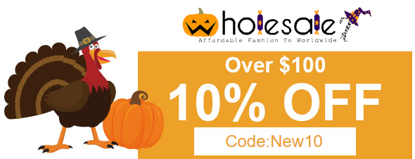 Thanks giving sale:10% off over $100