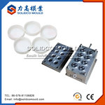 White Threaded Plastic Cap Mould